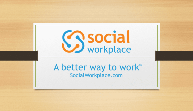 what-is-social-workplace