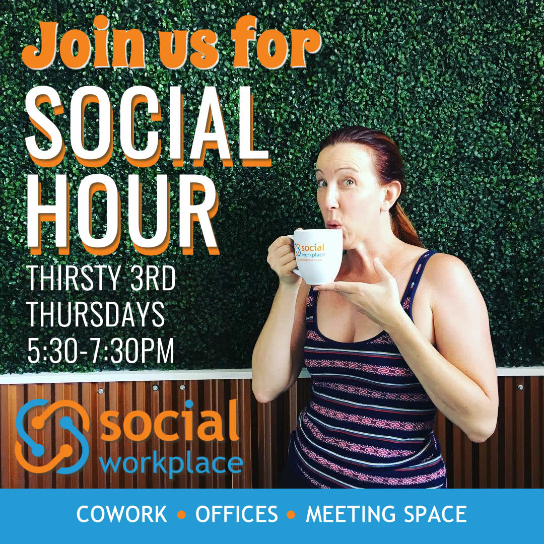 Social Hour Thirsty 3rd Thursday